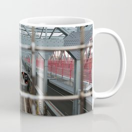 J Train - Williamsburg Bridge Coffee Mug