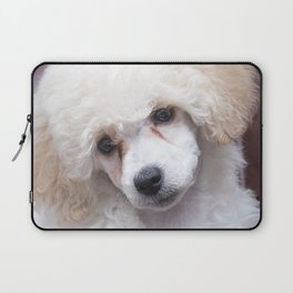 The Innocence of a Puppy Laptop Sleeve