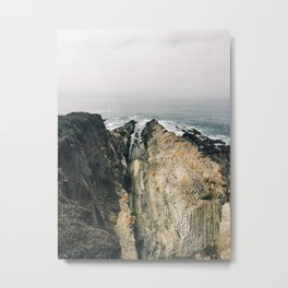 Ledges Metal Print