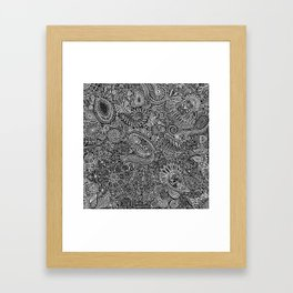 Maniac arabesque Framed Art Print