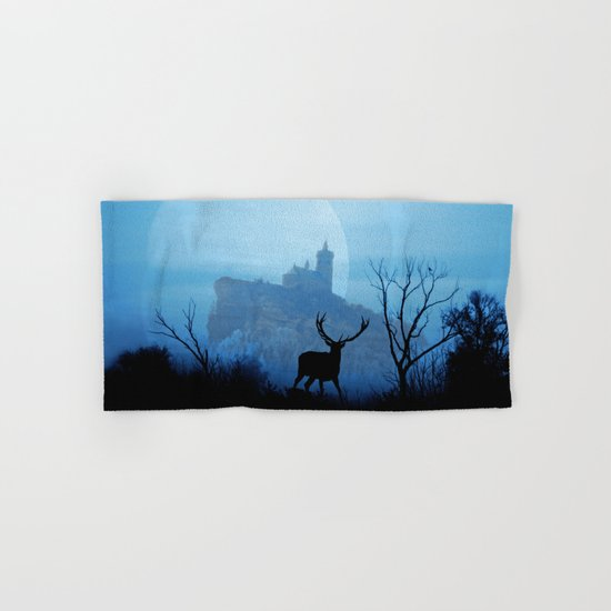 Stag moon Hand & Bath Towel