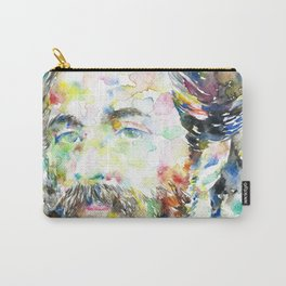 HERMAN MELVILLE - watercolor portrait.1 Carry-All Pouch