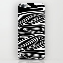 Stripes, distorted 4 iPhone Skin