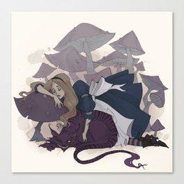 Sleeping Alice Canvas Print