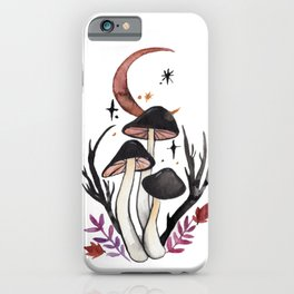 Potion Mushrooms iPhone Case