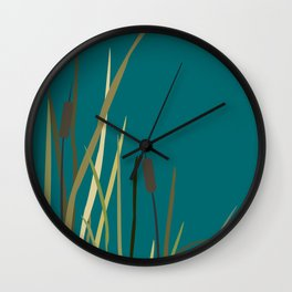 Reed Wall Clock