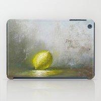 lemon iPad Cases featuring Lemon by Paul V
