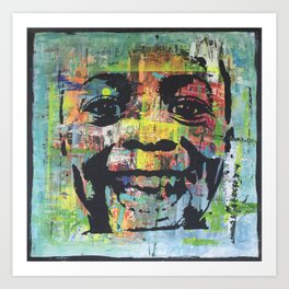 Big Smile Art Print