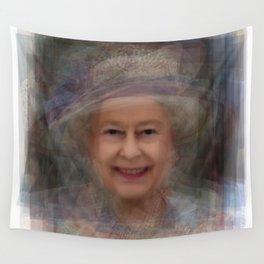 Queen Elizabeth II Portrait Wall Tapestry