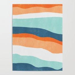 venice sunset Poster