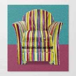 Last Chair Before Niagara Falls. Canvas Print