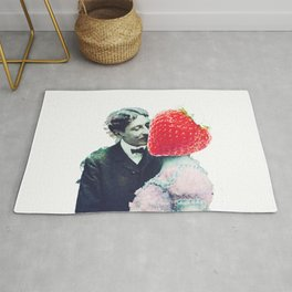 Strawberry love Rug