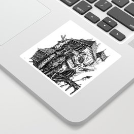 Doom Castle Sticker