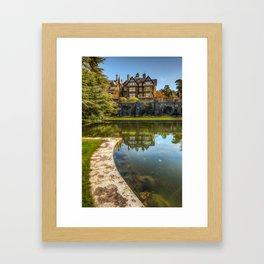 Bodnant Gardens Framed Art Print