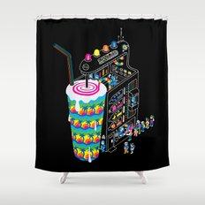 Milkshake Shower Curtain