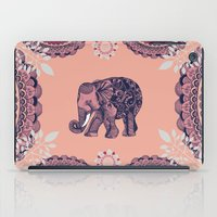 bohemian iPad Cases featuring Bohemian Elephant  by rskinner1122