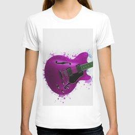 Electric Guitar Purple T-shirt