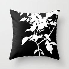 White Nature Throw Pillow