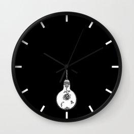 Lightbulb Wall Clock