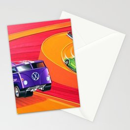 Vintage Hot Wheels Master Case Series 4 Poster No. 2 Stationery Cards