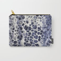Purple-blue abstract Carry-All Pouch