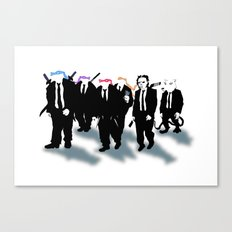 Reservoir Turtles Canvas Print
