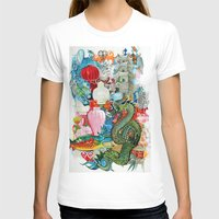 dragon T-shirts featuring Dragon by oxana zaika