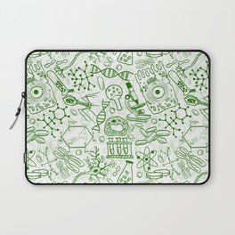 School Chemical pattern #1 Laptop Sleeve