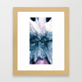 Crystal Wings Framed Art Print