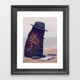 Bird Learning Framed Art Print