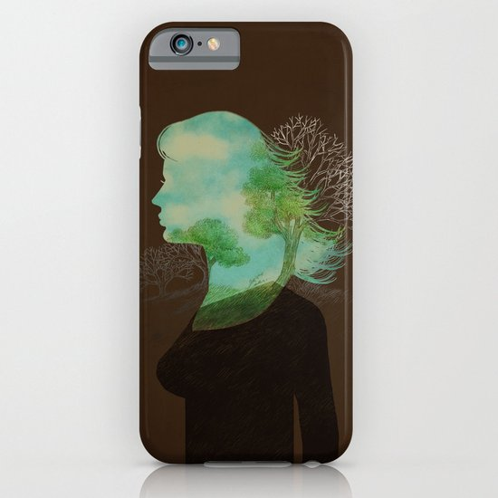 Remember Blue Skies iPhone & iPod Case