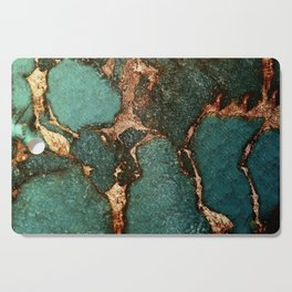 IZZIPIXX - EMERALD AND GOLD Cutting Board