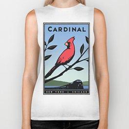 Vintage poster - Cardinal Biker Tank