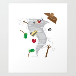 Awesome Tornado & Storm Chasing Art Print