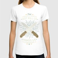 nietzsche T-shirts featuring That which does not kill us makes us stronger by Beardy Graphics
