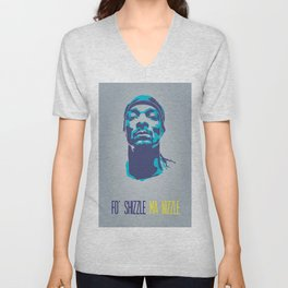 Snoop Dogg Poster Art Unisex V-Neck