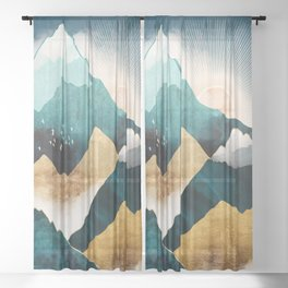 Daybreak Sheer Curtain