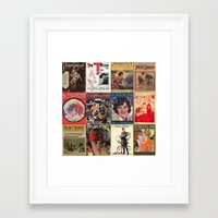 pulp Framed Art Prints featuring pulp by Jeni Decker