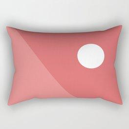Geometric Landscape 07 Rectangular Pillow