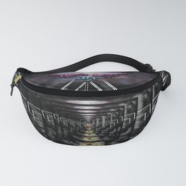 """""""Beez Lee Art : Wish Upon A Square Star"""" Fanny Pack"""