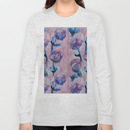Rose Petals Series Paintings Long Sleeve T-shirt