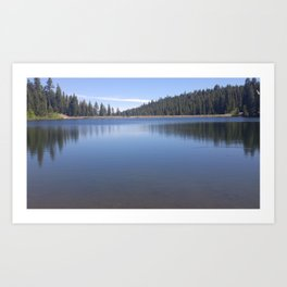 Donner Lake Art Print