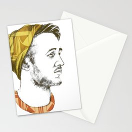 Indie Boy Stationery Cards