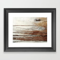 structure Framed Art Print