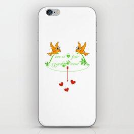 Love & Celebrate iPhone Skin