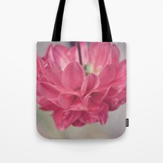 Water Petals Tote Bag