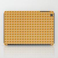 mario bros iPad Cases featuring Collective Mario Bros. Blocks by Rebekhaart