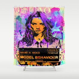 Bad Girl Kate Shower Curtain