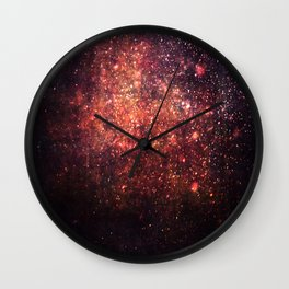 Cosmic twinkle Wall Clock