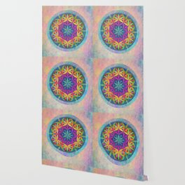 The Flower of Life variation Wallpaper